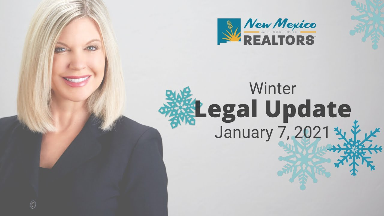 2021 NMAR Winter Legal Update