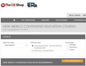 The CE Shop Continuing Education Partnership with TCAR